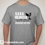 Grey Volunteer t-shirt 2015